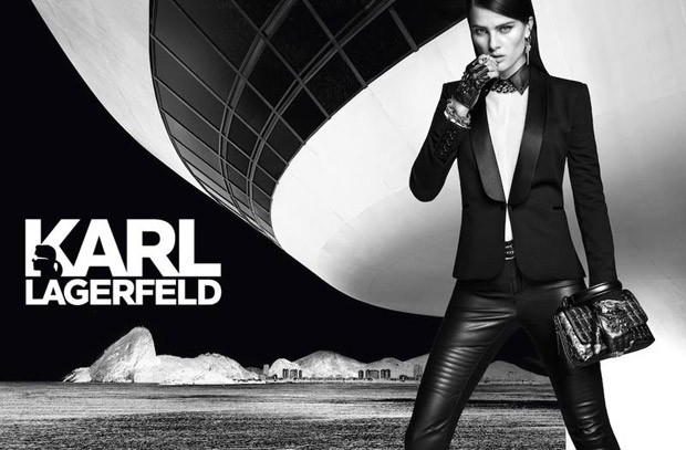 Исабели Фонтана в Karl Lagerfeld for Riachuelo