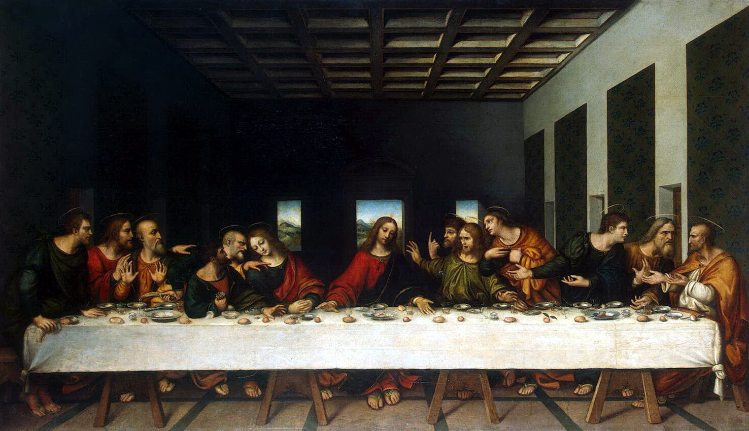 describe how focal point and emphasis are used in leonardo da vinci s last supper The perspective of leonardo's last supper of perspective in leonardo da vinci's last supper the first mention of the use of the vantage point is found.